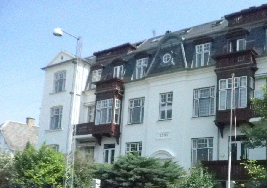 Facade ejendom boligforening