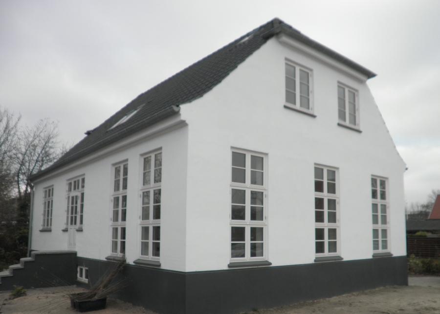 Tilbygning villa